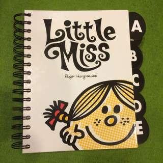 🇦🇺澳洲帶回全新Little Miss通訊錄本🇦🇺