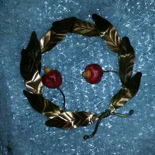 Greek Door Olive Garland For Peace And Good Luck