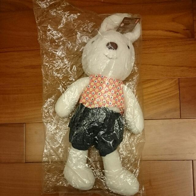 (保留)絨毛🐰白兔兔