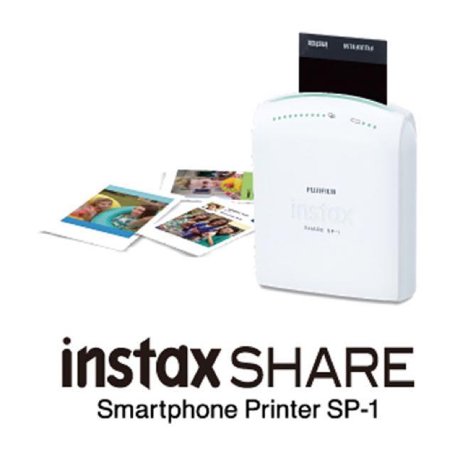 極新 保固中(贈送底片)富士拍立得底片打印機 Fujifilm Instax SHARE SP-1