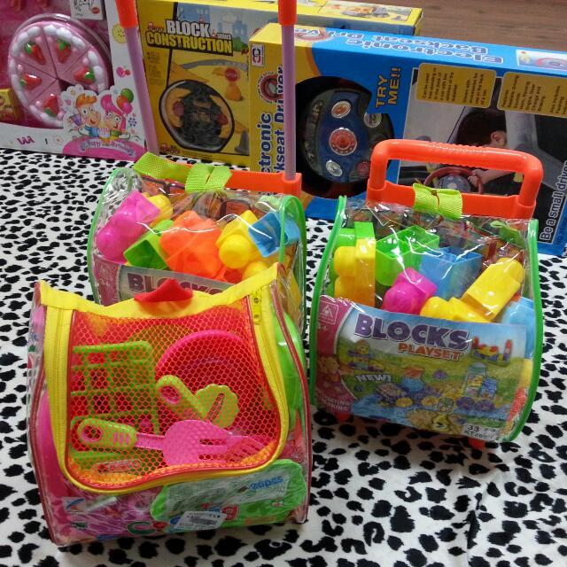 現貨-玩具-背包積木