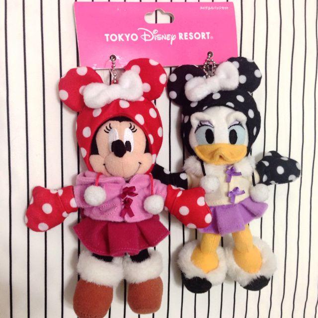 迪士尼 米妮 黛西 絕版 娃娃 吊飾