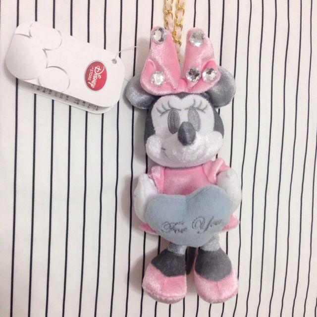 迪士尼 米妮 妙妙貓 小飛象 鑽石 娃娃 吊飾💎