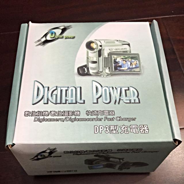 全新*數位相機/數位攝影機 快速充電器(DP3型充電器)
