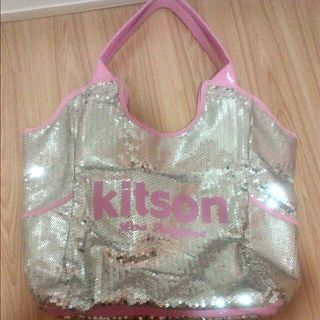 Kitson亮片包