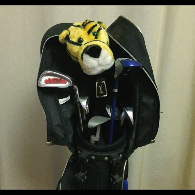 Used Mixed Bag Of Golf Clubs (Children's)