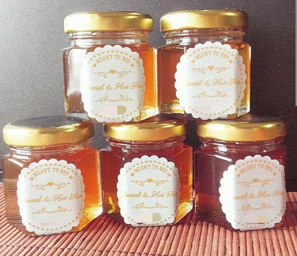 Honey Wedding Favor Wedding Decor Ideas