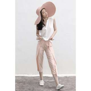 Everydaypeople The Flutter Pants In Blush