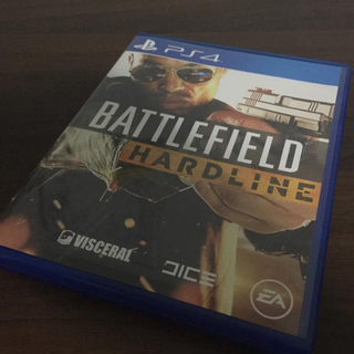 PS4 Battlefield 4 Hardline (With Code)