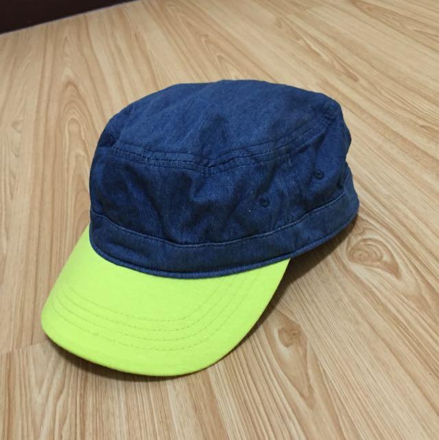 螢光單寧雙色帽