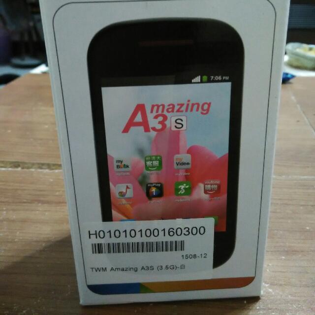 Amazing A3s手機 / 全新
