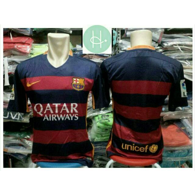 finest selection 9f79a 2dde9 Barcelona Football Jersey 2015/16, New Season Home Kit
