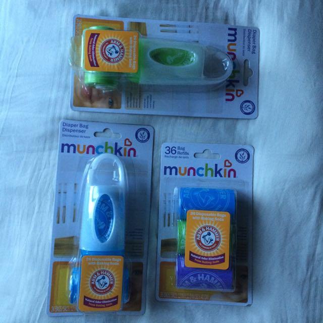 Brand New Munchkin Diaper Bag Dispenser