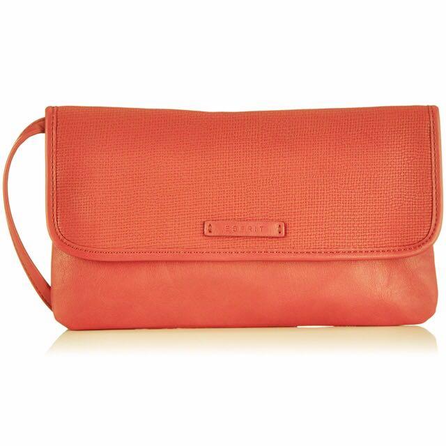 Faux Leather Envelope bag  ESPRIT | 055EA1O001
