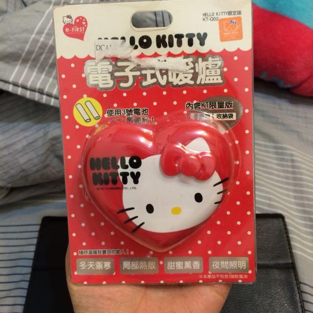 Hello kitty 電子式暖爐