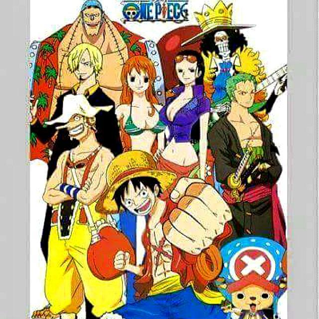 One Piece wallscroll