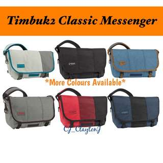 📢CJ - Timbuk2 Classic Messenger (S)