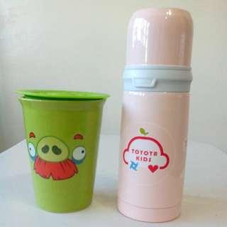 保溫瓶+陶瓷杯