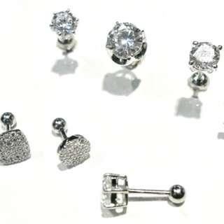 徵收類似圖片裡面款式的鎖式耳環