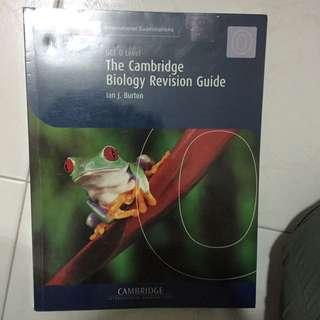 Cambridge International Examinations GCE O Level The Cambridge Biology Revision Guide By Ian J. Burton