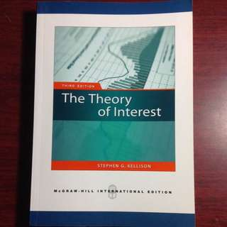 《二手》The Theory Of Interest 3rd Edition