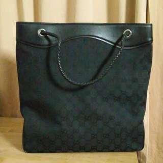 Gucci canvas bag - 100% authentic