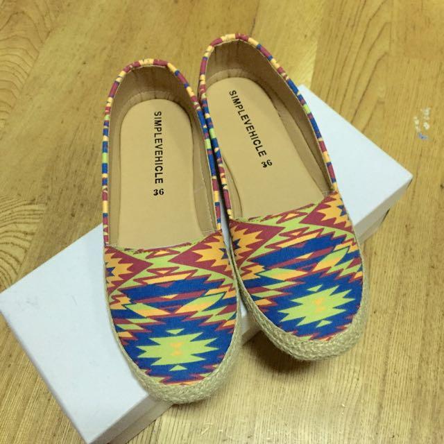 ⚡️隨便賣⚡️彩色的平底鞋