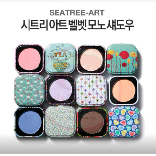 韓國知名品牌✨單色眼影