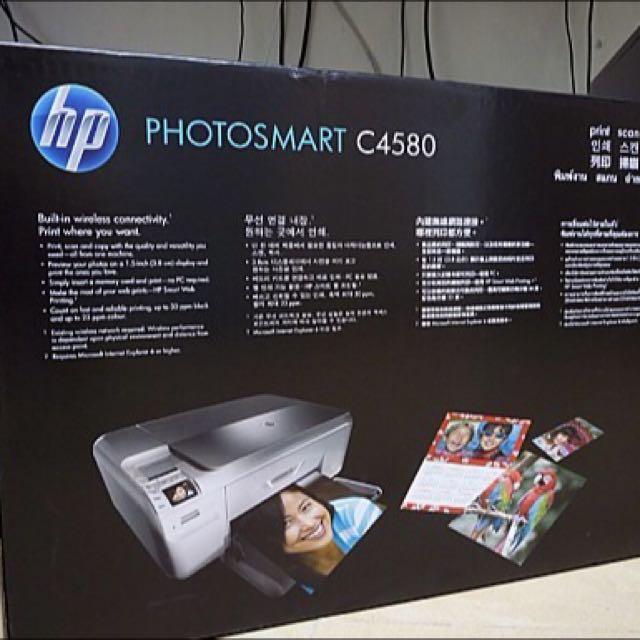 ✨Hp Photosmart C4580👍多功能印表機