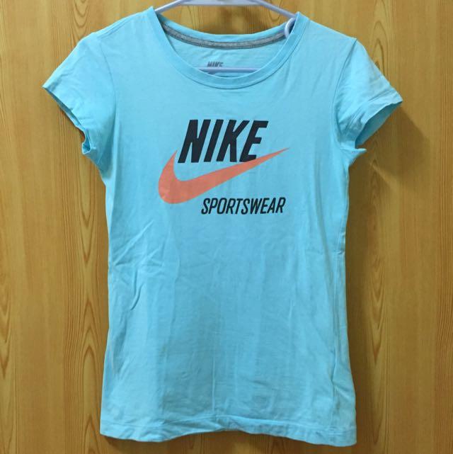 (降 含運) Nike 運動上衣 (綿T)
