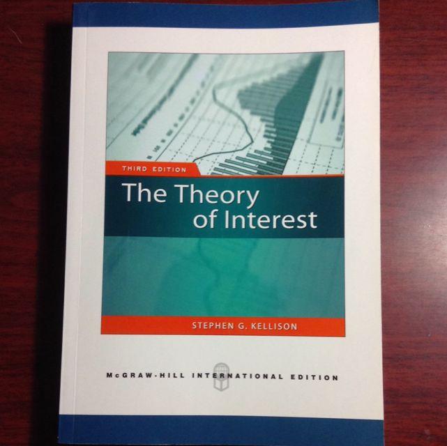 《二手》The Theory Of Interest 3rd Edition