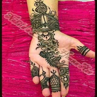 Henna For Hari Raya Eid