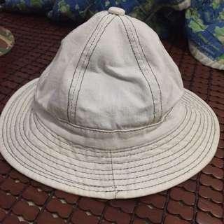 漁夫帽 淺白藍