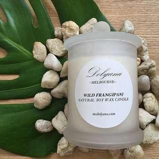 Dolyana Soy Candle - Wild Frangipani