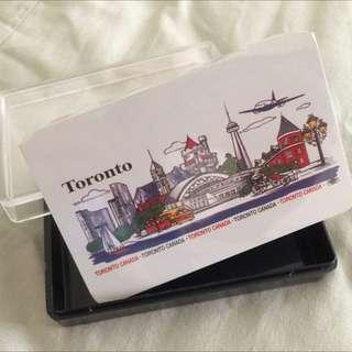 從加拿大買回來的撲克牌