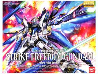 1/100 MG Strike Freedom Gundam Extra Finish Version Boxed