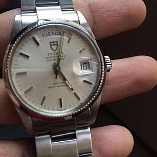 Vintage Tudor Oyster Prince Date Day 94710 In Mint Condition