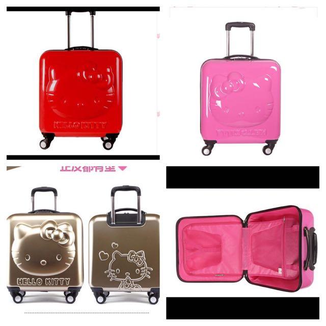 3D Hello Kitty 18吋 行李箱 登機箱