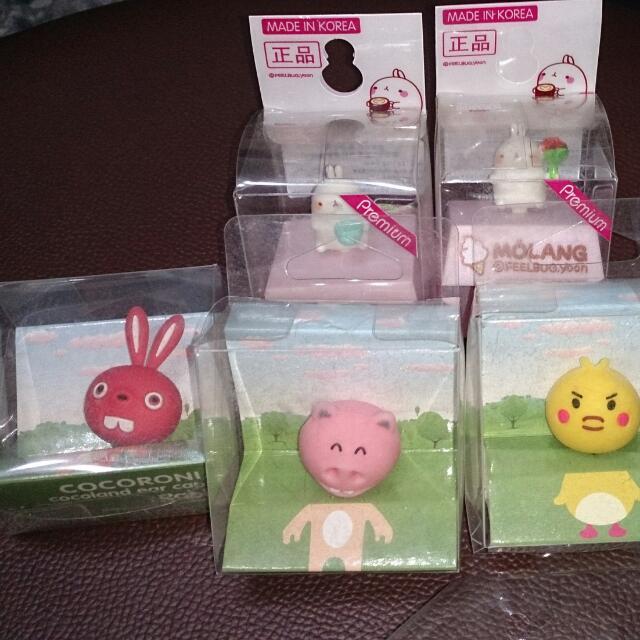 兔兔、動物防塵耳機塞