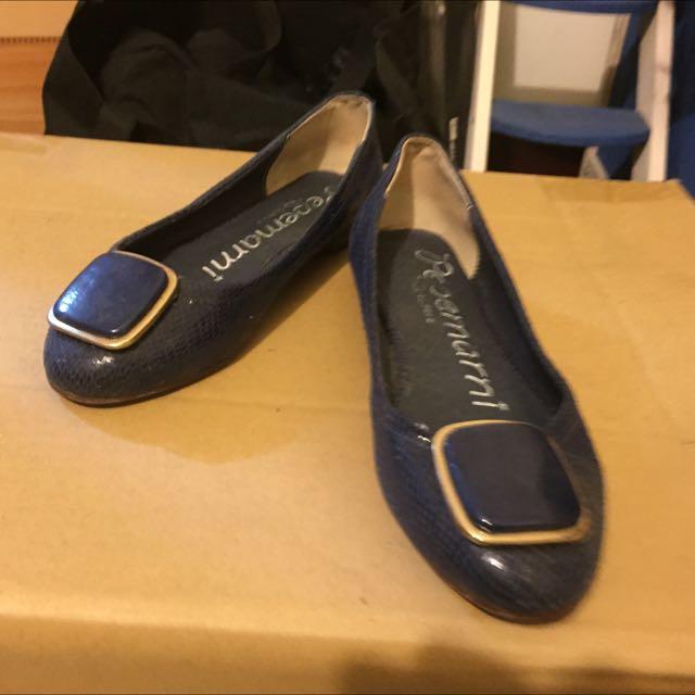 正韓 藍寶石娃娃鞋