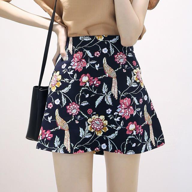 BNWT Floral Skirt