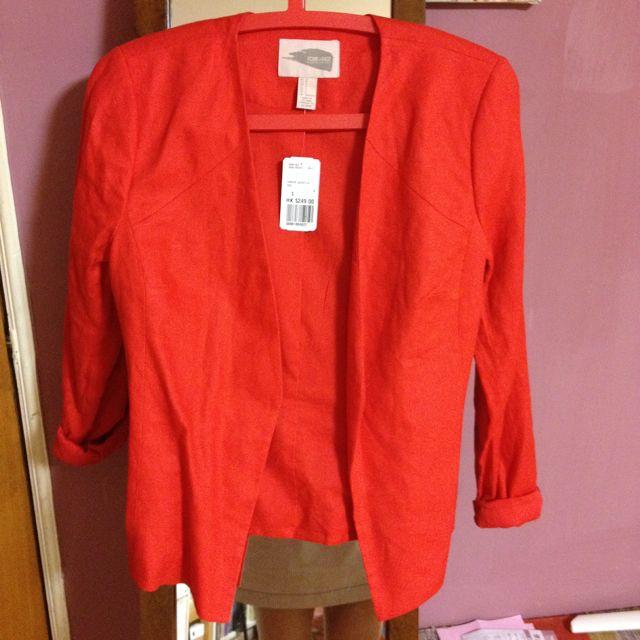 全新Forever21紅色外套