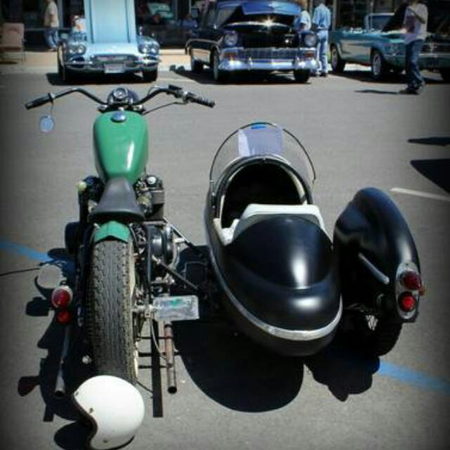 Motorcycle Sidecar Hondamatic