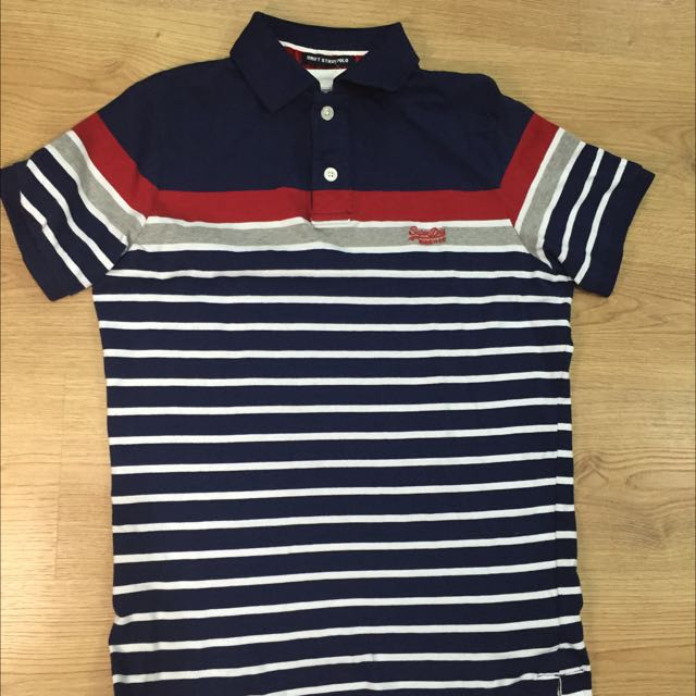 SuperDry Polo衫 L號