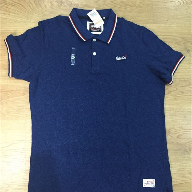 SuperDry Polo衫 M/XL號