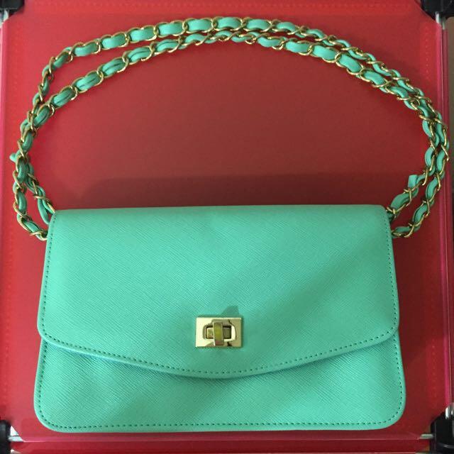 Tiffany綠的小包包