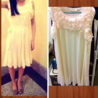 白色小禮服洋裝✨✨