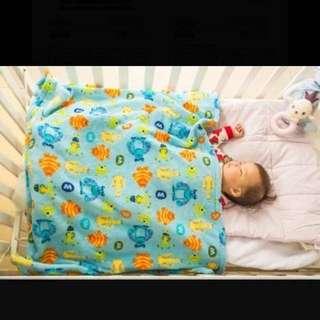 (含運)寶寶珊瑚絨毯蓋毯