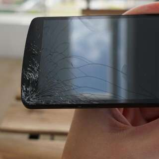 Nexus 5 32gb With Cracked Screen