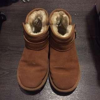 《二手》可愛小雪靴